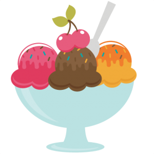 Bowl Of Ice Cream SVG file for scrapbooking free svgs free svg files free svg cut files for cutting machines