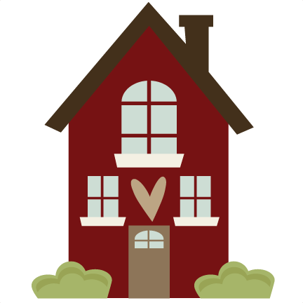 House Svg File House Svg Cut File For Scrapbooking Home