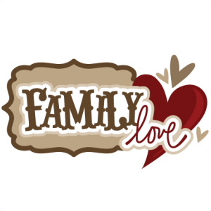 Family Love SVG scrapbook title family svg files family svg scrapbook title free svg cuts