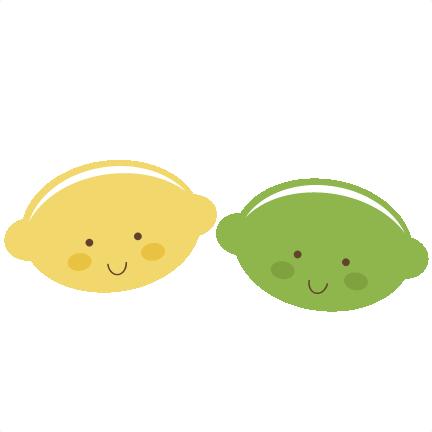 Cute Lemon & Lime SVG files for scrapbooking cute lemon ...