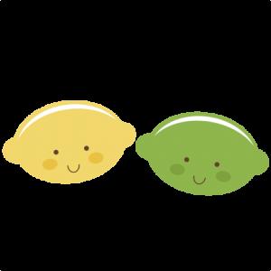 Cute Lemon & Lime SVG files for scrapbooking cute lemon svg file cute lime svg file free svg cuts