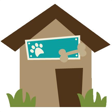 Dog House SVG file for scrapbooking dog house svg cut file ...