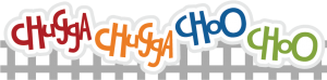 Chugga Chugga Choo Choo SVG scrapbook title train svg files train svg cut files cut files for scrapbooking