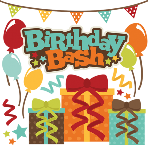 Birthday Bash SVG scrapbook file free svg files free svg cuts free cute files for scrapbooking