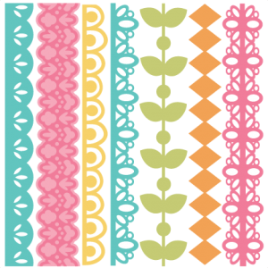 Spring Borders Set 2 SVG files svg borders border svg cut files free svgs free svg files free svg cut files