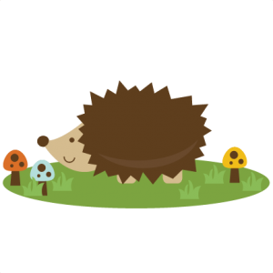Cute Hedgehog SVG file for scrapbooking cutting machines hedgehog svg cut file cute hedgehog clipart