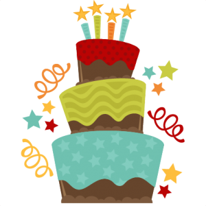 Chocolate Birthday Cake SVG cut file birthday cake svg file free cut files free svgs free svg cuts