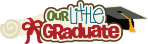 Our Little Graduate SVG scrapbook title preschool graduation svg scrapbooking file graduations svg cut files