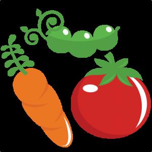 Garden Veggies SVG files garden vegetables svg cut files for scrapbooking gardening svg files