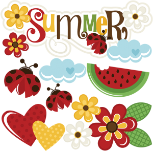 Summer SVG scrapbook title summer svg files flower svg file flower svg file cute svg cuts free svgs