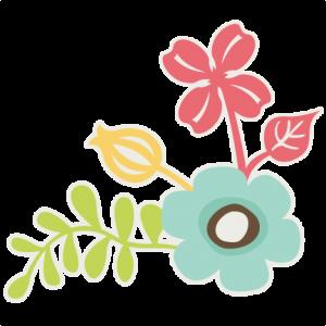 Corner Flowers SVG files for scrapbooking flower svg cut files flower cut files free svgs free svg cut files