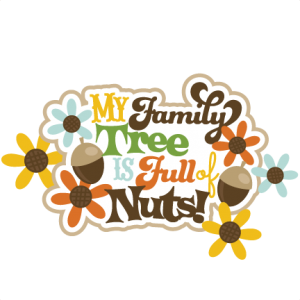 My Family Tree Is Full Of Nuts SVG scrapbook title
