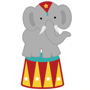 Circus Elephant SVG file for scrapbooking circus svg files elephant svg files free svg cut files