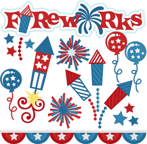 Fireworks SVG cut files for scrapbooking fireworks svg files 4th of july svg files free svgs