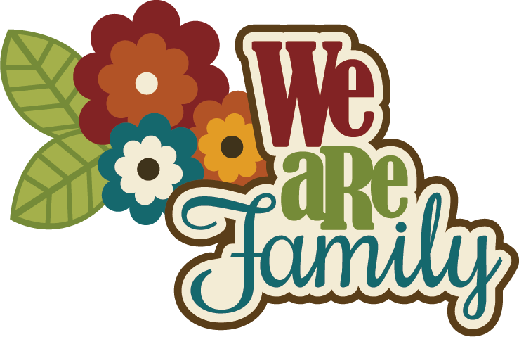 We Are Family SVG scrapbook title family svg cut files ...