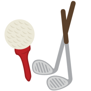 Golf Set SVG scrapbook title golf svg file golfing svg scrapbook title svg cut files