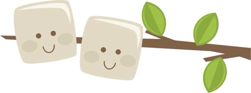 Marshmallows On A Stick Svg Scrapbook File Camping Svg