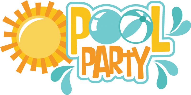 Pool party svg scrapbook title pool svg cut files pool party svg files for scrapbooking free svgs for Free clipart swimming pool party