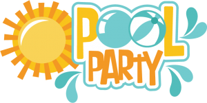 Pool Party SVG scrapbook title pool svg cut files pool party svg files for scrapbooking free svgs
