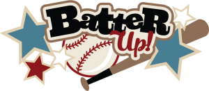 Batter Up SVG scrapbook title baseball svg files baseball svg cut files free svgs free svg cuts