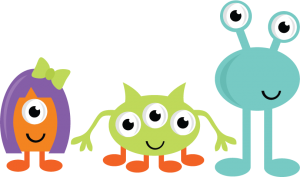 Cute Monsters SVG cut files for scrapbooking monster svgs cute monster clipart free svgs
