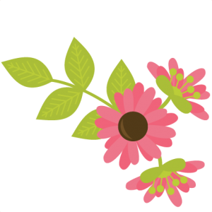 Flowers With Vine SVG files for scrapbooking flower svg cut files background svg files