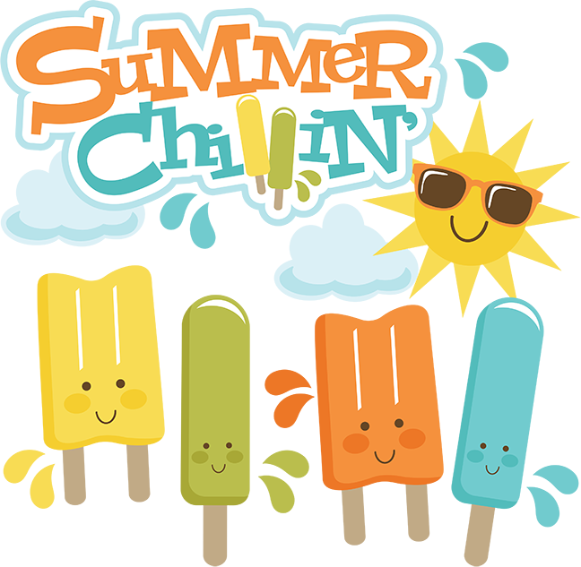 Summer Chillin Svg Cut Files For Scrapbooking Popsicle