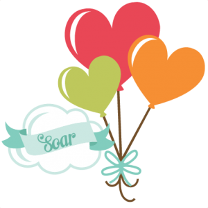 Soar SVG scrapbook title heart balloons svg cut files free svgs free svg cuts free svg cut files