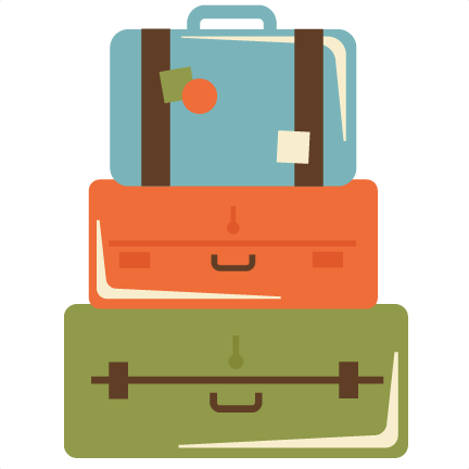 Stacked Suitcases SVG cut files suitcase svg files for ...