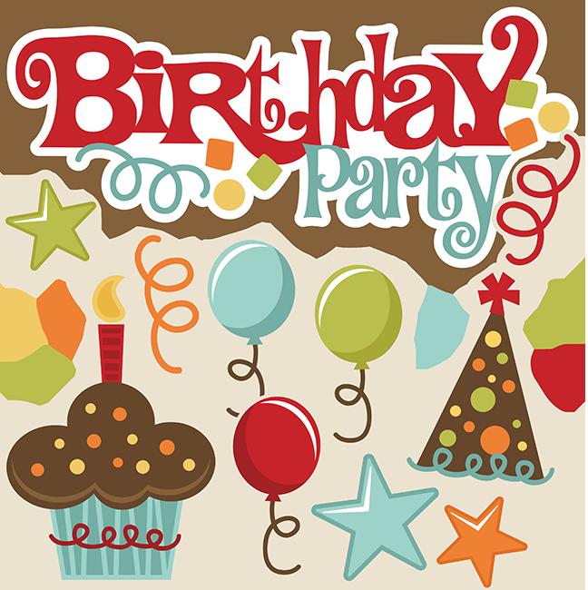 Birthday Party Svg Files Birthday Svg Files Birthday Svg Cuts Cute Svgs Free Svg Files For Scrapbooking