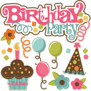 Birthday Party SVG files birthday svg files birthday svg cuts cute svgs free svg files for scrapbooking