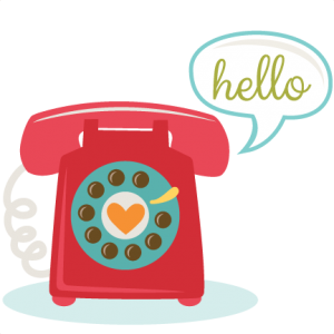 Telephone SVG cut file for scrapbooking phone svg file free svg cut files free svg cuts