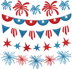 4th Of July Banners SVG scrapbook 4th of July svg files july 4th svg cut files for cutting machines free svgs