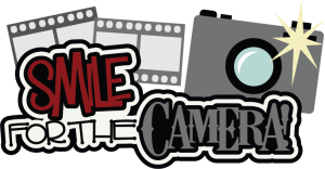 Smile For The Camera SVG scrapbook title camera svg file cute svg cut files free svgs