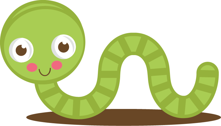 Cute Green Worm SVG cut files for scrapbooking worm svg ...