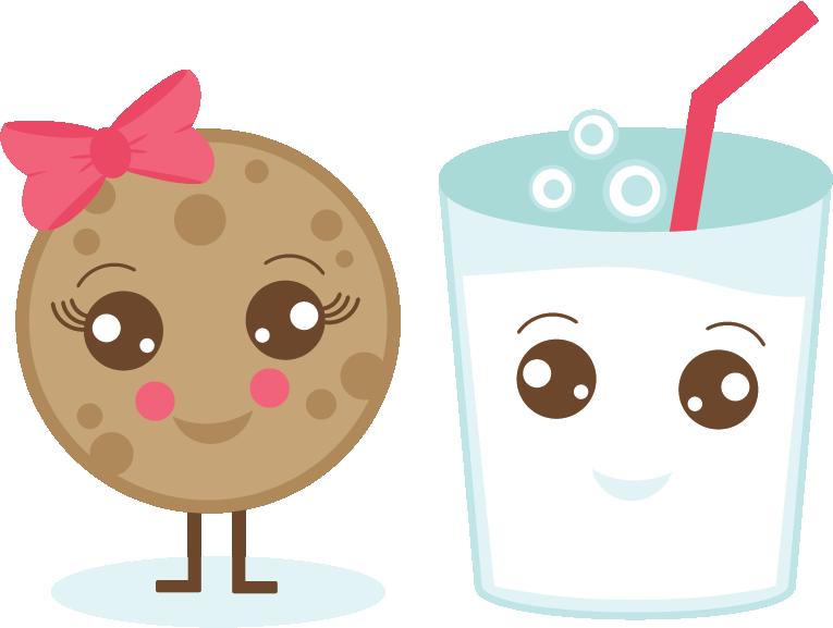 Milk & Cookie SVG cut file cute cookie svg file milk svg ...