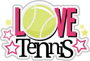 Love Tennis SVG scrapbook collection tennis svg files tennis svg cuts tennis cut files for scrapbooking