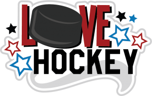 Love Hockey SVG cut files for scrapbooking hockey svg files sports svg cut files free svg cuts