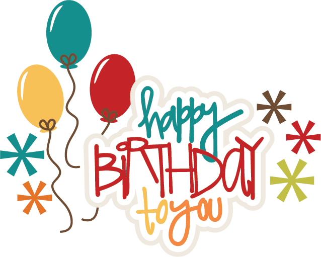 Happy Birthday To You SVG birthday cake svg file birthday girl svg ...