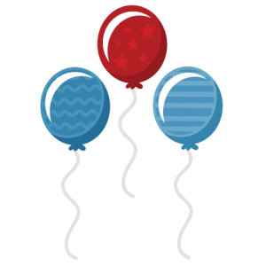 Independence Balloons Shapes SVG cut files balloon shapes free svgs cute svg cuts