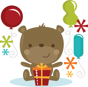 Birthday Bear SVG cut files for scrapbooking birthday svg files free svgs svg cut files
