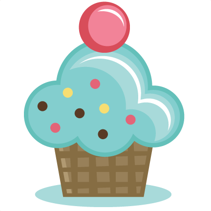 yummy cupcake svg cut files for scrapbooking birthday svg