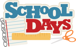 School Days Title SVG files for scrapbooking school svg cut files free svgs school svgs scal files