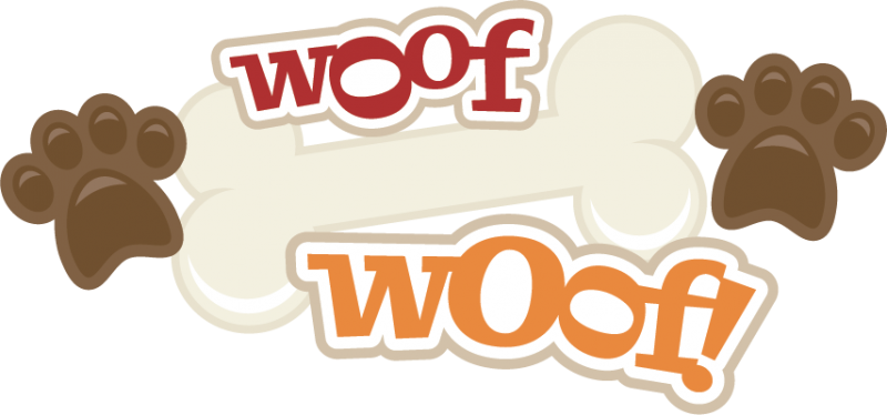 Woof Dog Picture Frame