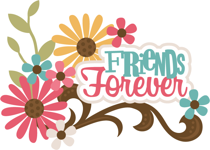 Friends Forever Title on Missing Numbers Clipart