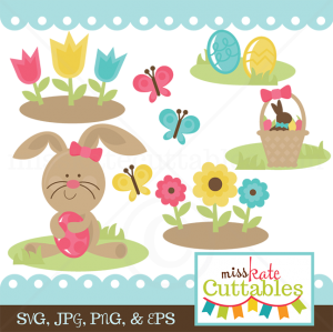 Happy Easter SVG scrapbook bundle easter svg file easter svg cuts free svgs for cards scrapbooks
