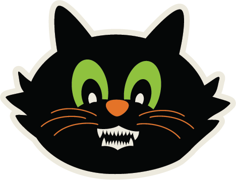 Scary Cat Svg Cut File Free Svgs Free Svg Cuts For