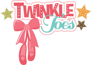 Twinkle Toes SVG cut files for scrapbooking dance svg scrapbook title dance svg cut files