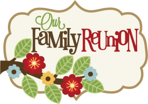 Our Family Reunion SVG scrapbook title family svg scrapbook title free svg cuts