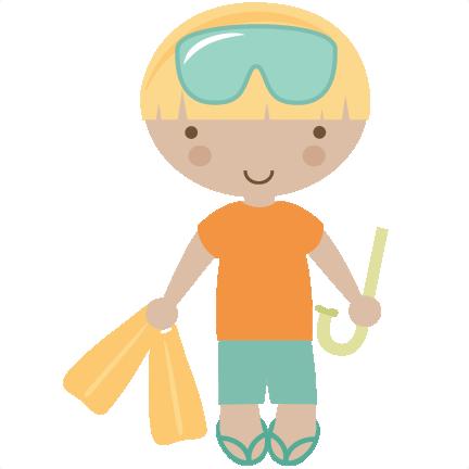 Beach Boy SVG cut files for scrapbooking beach svg files